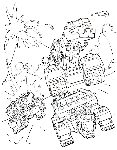 450x580 Dinotrux Coloring Pages