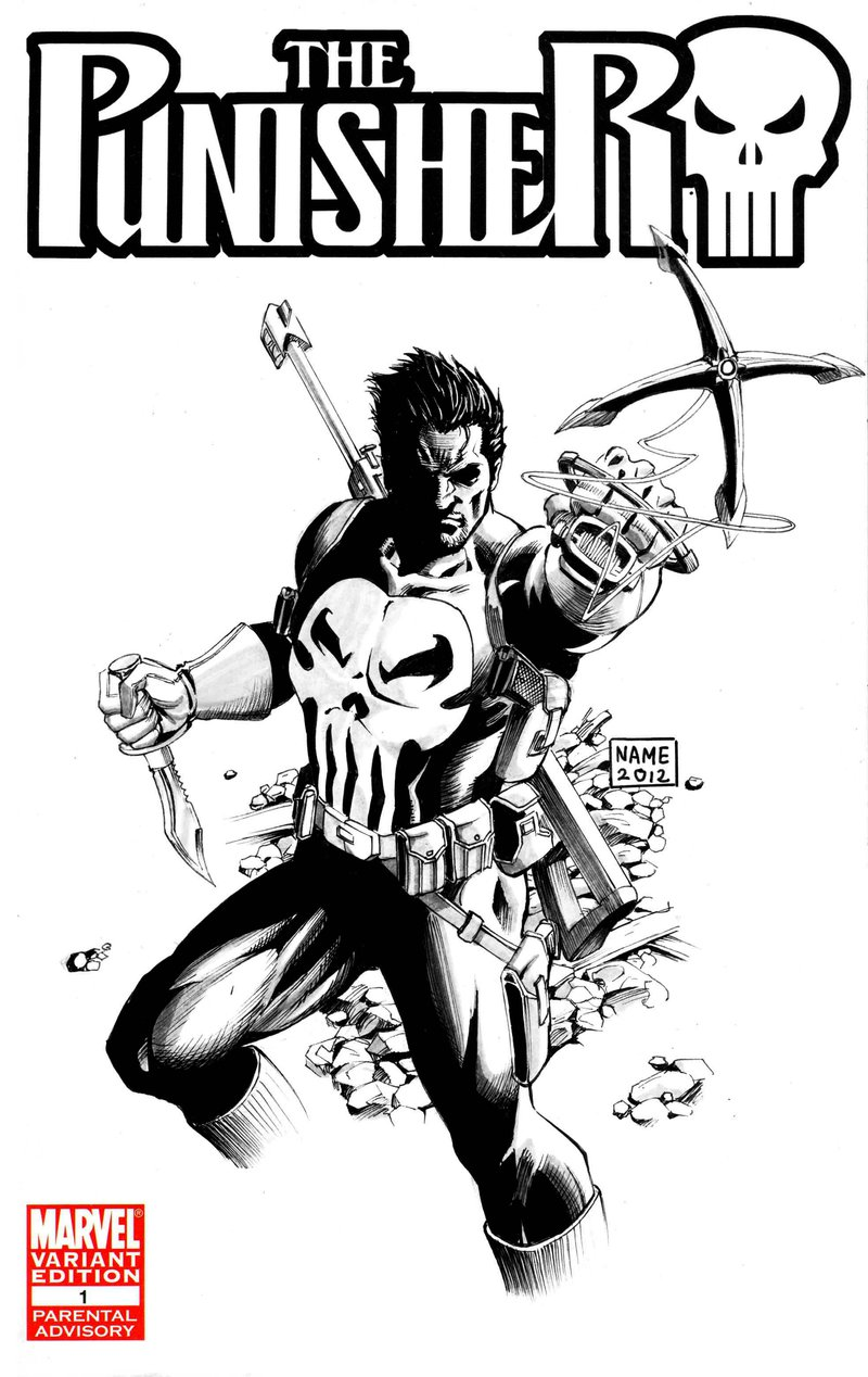 800x1268 Punisher Coloring Pages Keywords And Pictures