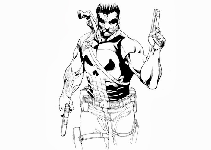 700x500 Punisher Coloring Pages Free Coloring Pages And Coloring Books