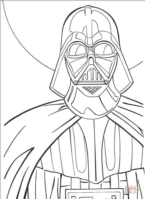566x778 Darth Vader Coloring Pages To Print Darth Vader Coloring Page Free