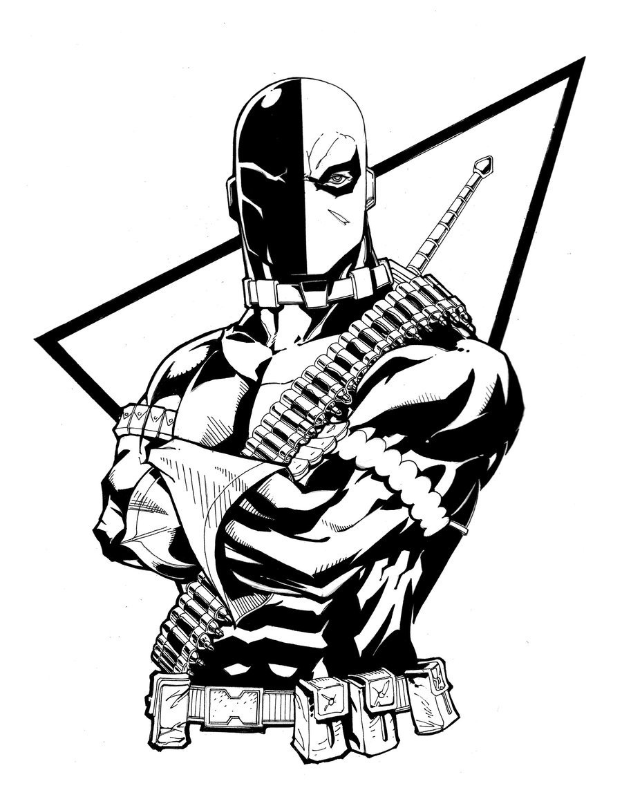900x1153 Deathstroke Coloring Pages Lovely Punisher Batman Vs Vs