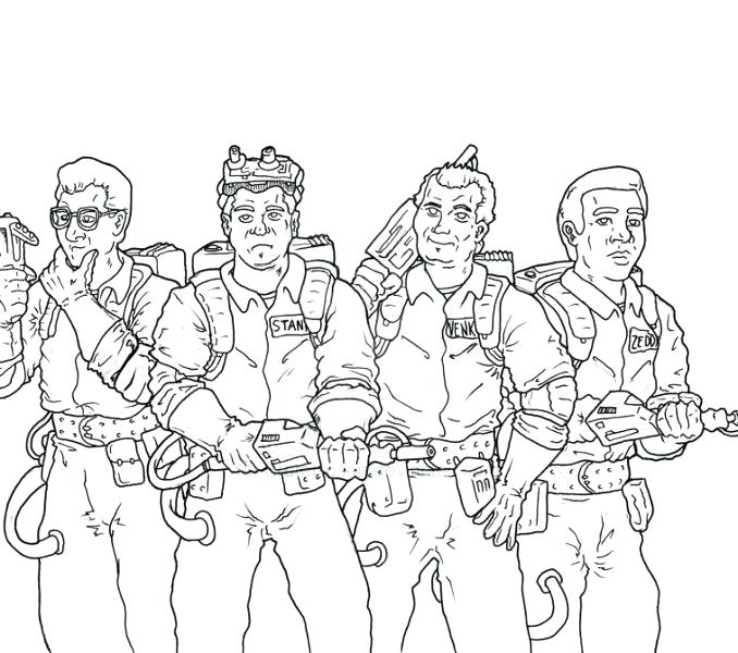 678x600 Ghostbusters Coloring Pages Real Coloring Pages Real Ghostbusters