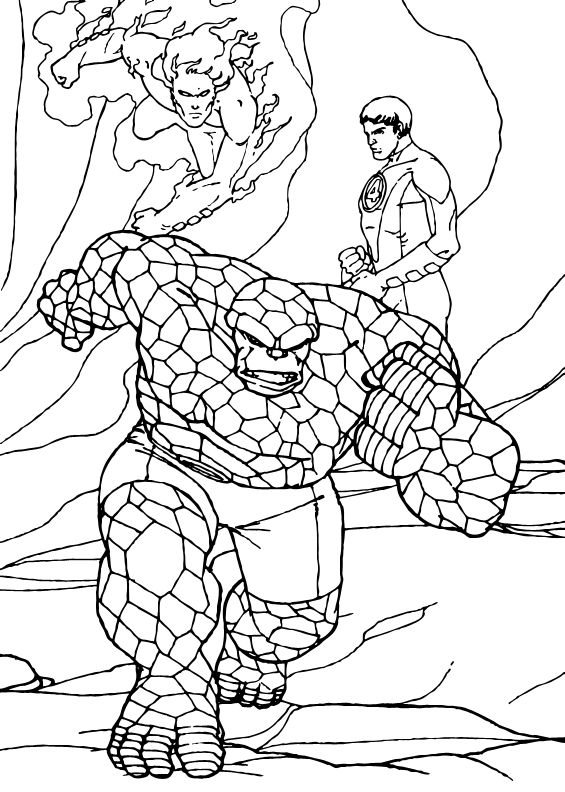 565x792 Best Super Heroes Coloring Pages Images