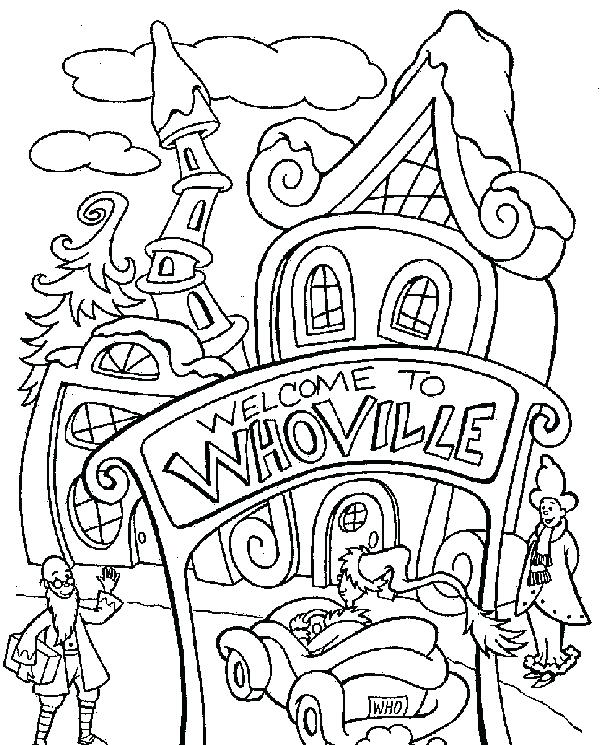 600x745 Thing One And Thing Two Coloring Pages