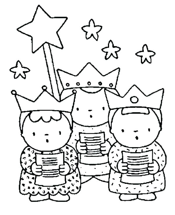 600x738 La Befana Coloring Page Wise Men Coloring Pages Wise Men Coloring