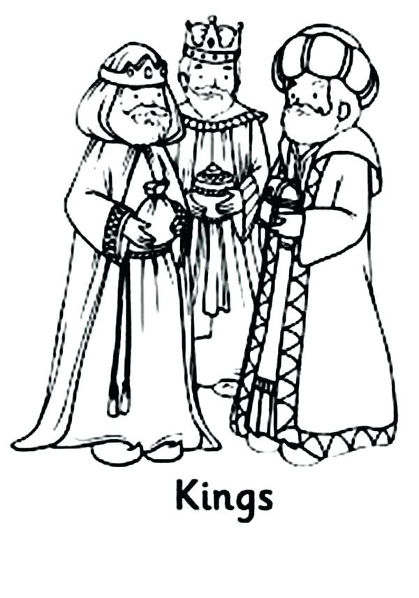 The Three Kings Coloring Pages At Getdrawings Com Free For