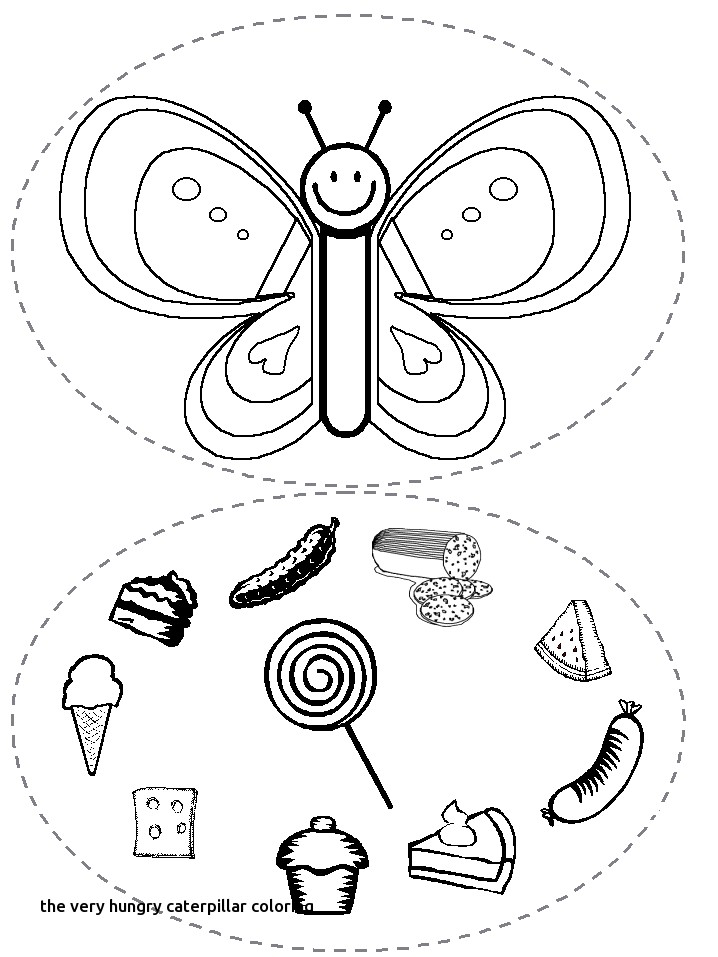 718x957 Very Hungry Caterpillar Coloring Page Free Printable Coloring