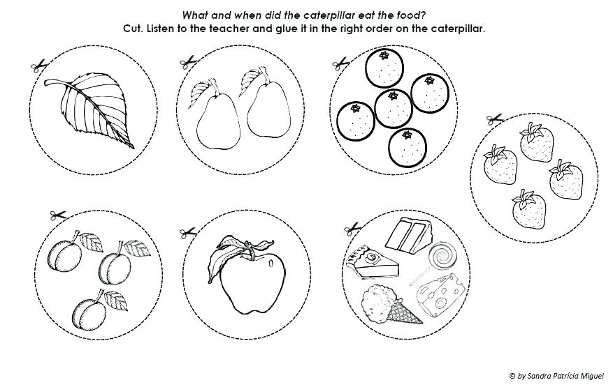 The Very Hungry Caterpillar Printables Coloring Pages at GetDrawings ...