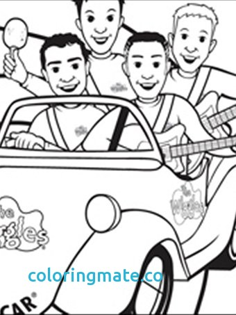 340x453 The Wiggles Coloring Pages Fresh Wiggles Coloring Pages Wiggles