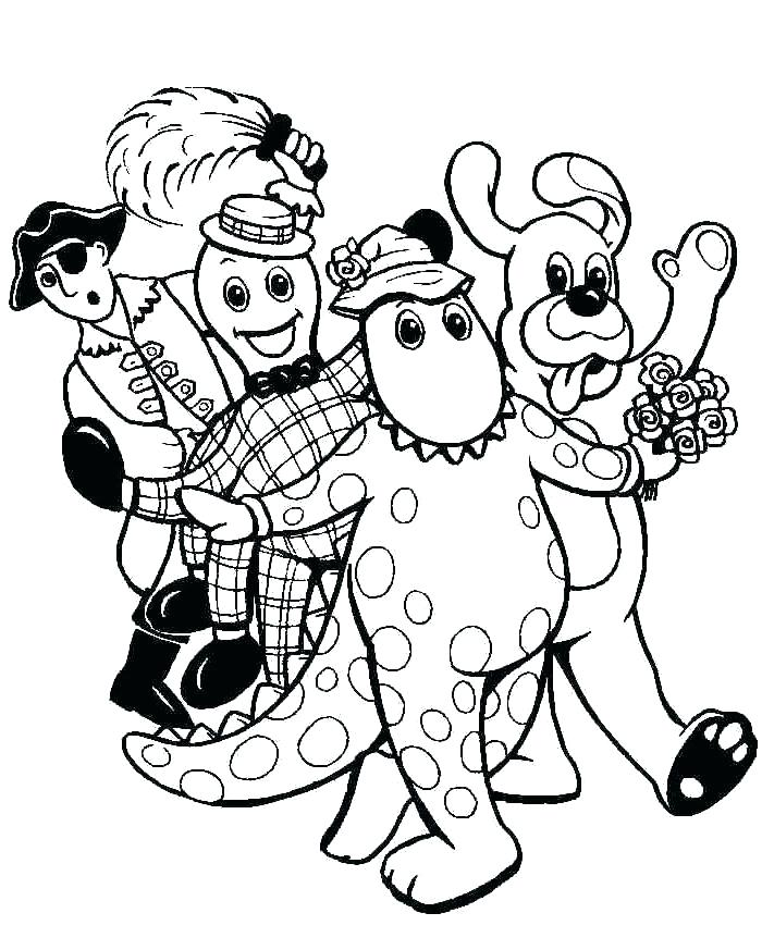 700x873 The Wiggles Coloring Pages New The Wiggles Coloring Pages Free