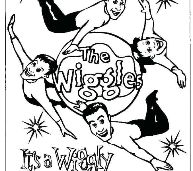 678x600 The Wiggles Coloring Pages The Wiggles Colouring Pages Wiggles