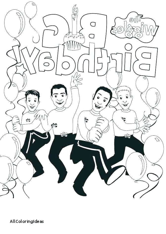 671x947 The Wiggles Coloring Pages Wiggles Coloring Pages To Print