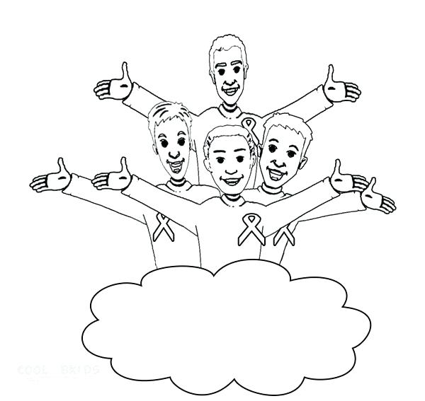 600x567 The Wiggles Coloring Pages Ws Coloring Pages To Print Image P