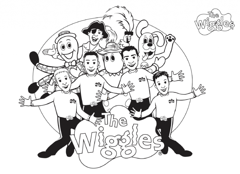 1024x742 Free Printable Wiggles Coloring Pages For Kids Free Printable