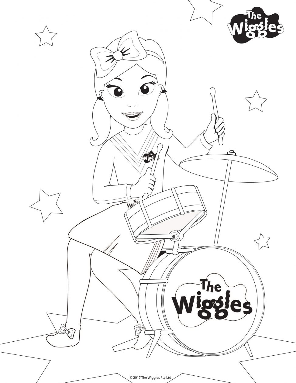 974x1260 Free Printable Wiggles Coloring Pages For Kids