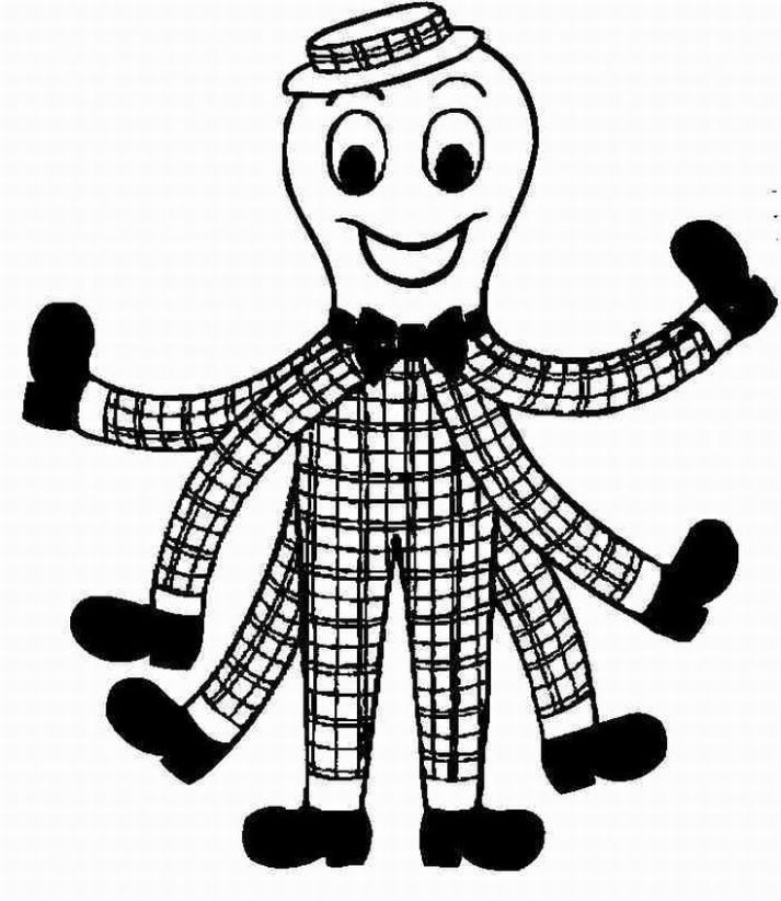 713x822 Henry From The Wiggles Coloring Page All Kinds Of Crafts