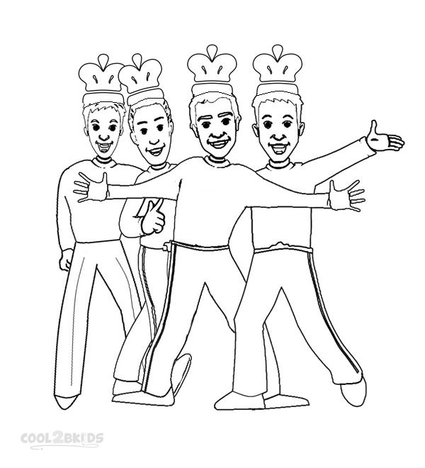 600x660 Printable Wiggles Coloring Pages For Kids
