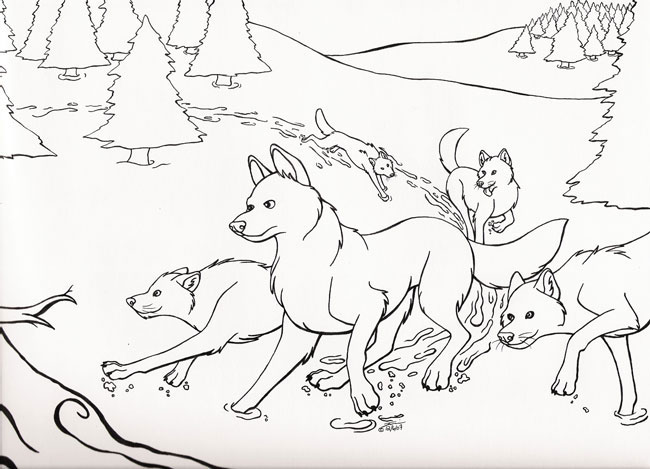 The Wild Coloring Pages