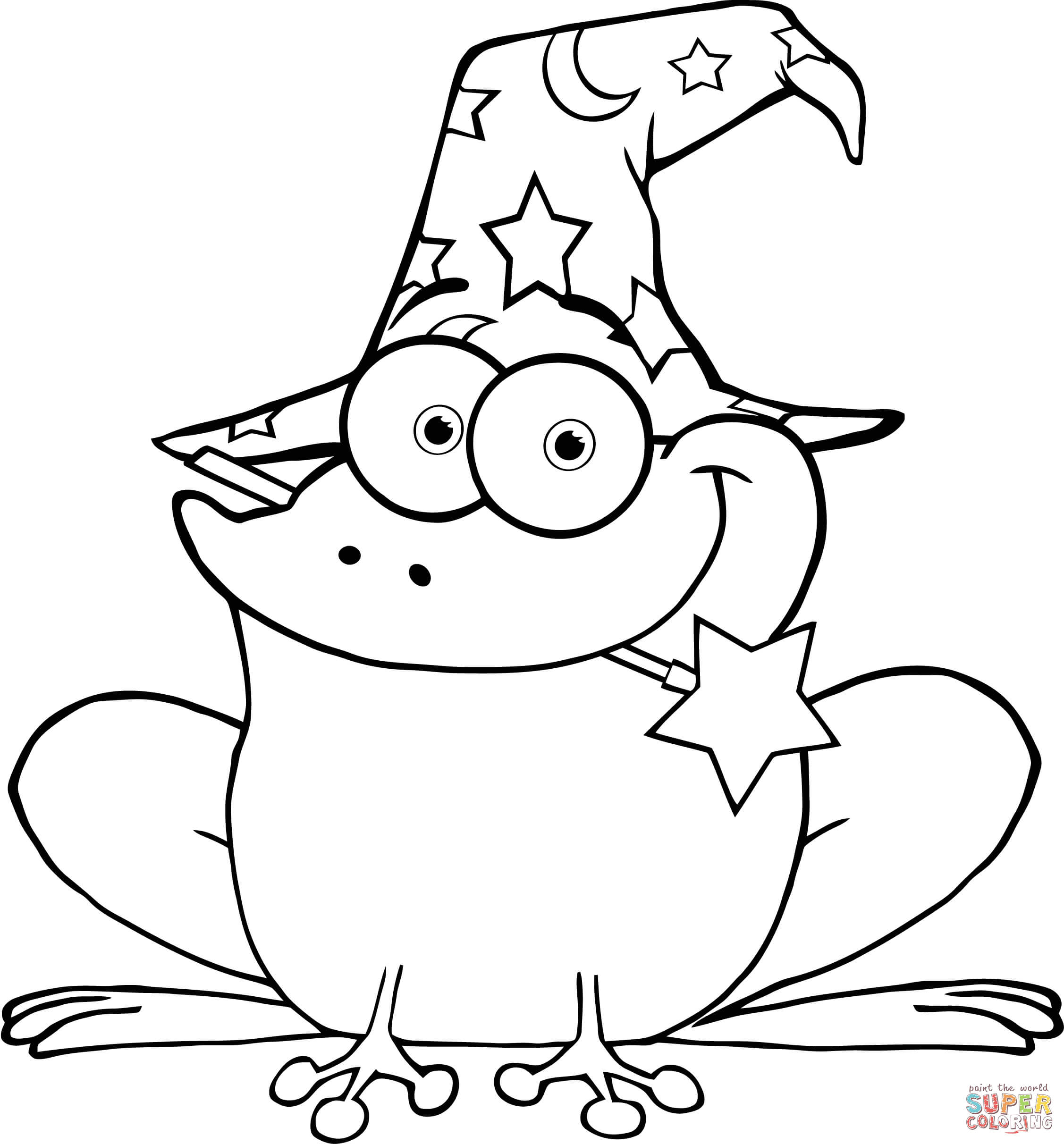 2254x2424 Wizard Coloring Pages
