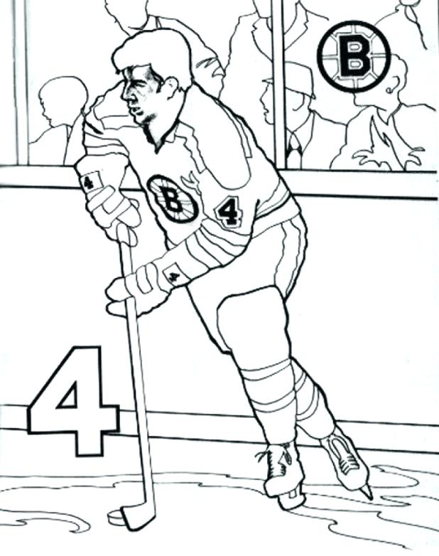 618x782 Boston Bruins Coloring Pages