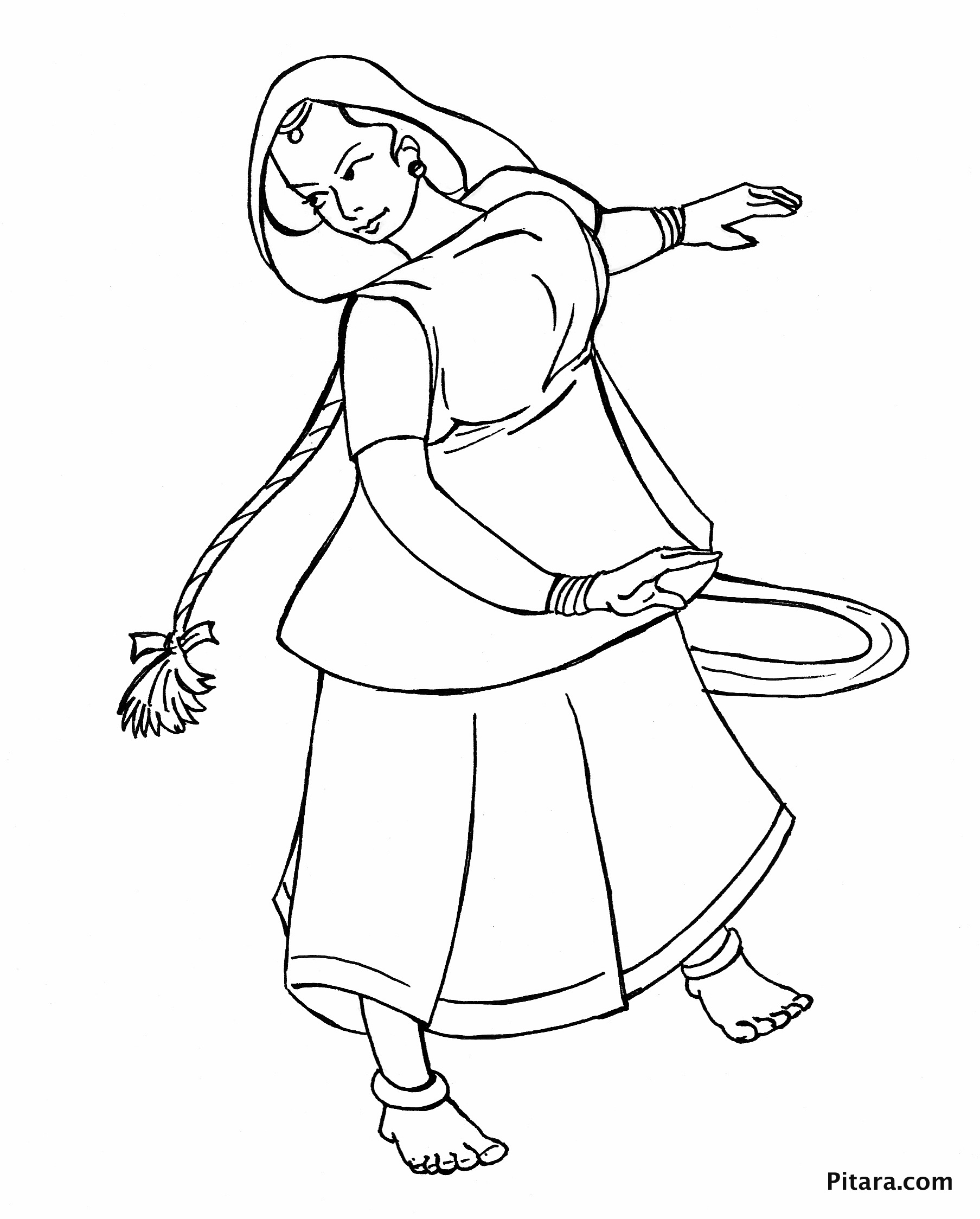 1807x2248 Dancing Styles Coloring Pages Pitara Kids Network