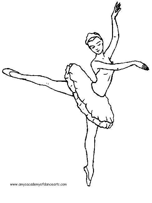 487x650 Best Dance Coloring Pages Images On Ballet Dancers