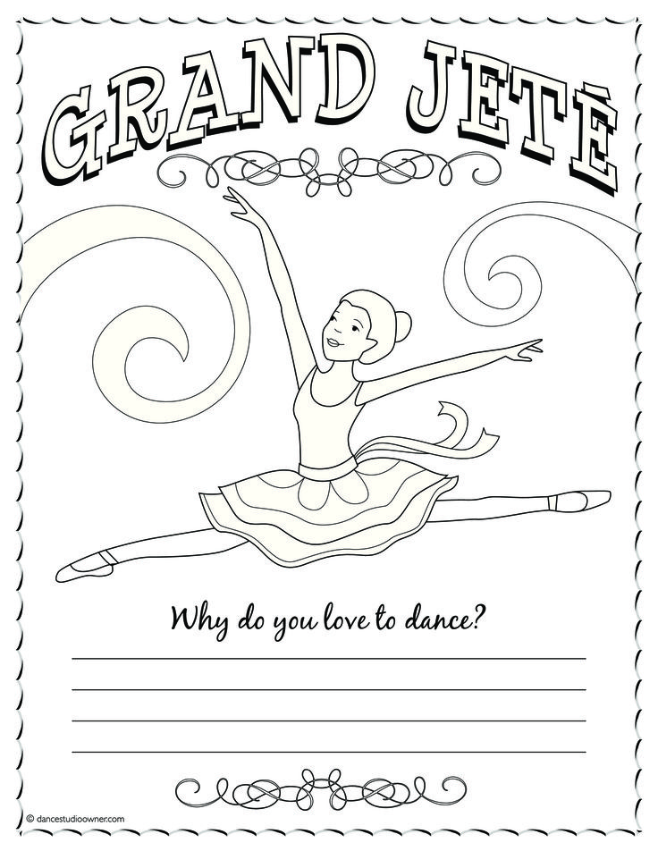 736x952 Best Dance Coloring Pages Images On Dance Crafts