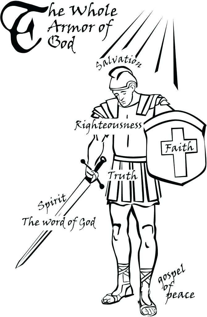 670x1024 God Is Love Coloring Pages God Coloring Pages Armor Of God