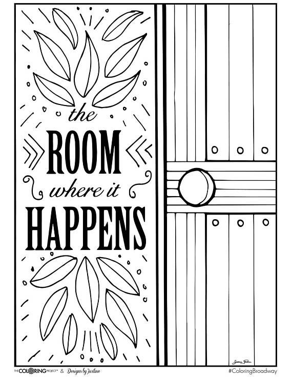 570x738 Best Hamilton Coloring Pages Images On Musical