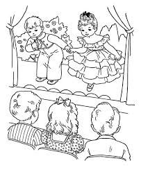 203x248 Theatre Coloring Page Coloring Pages