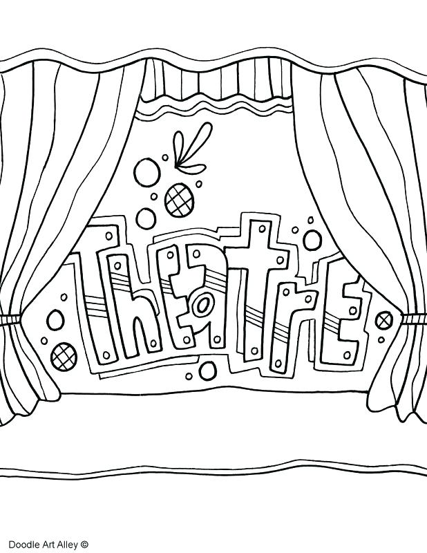 618x800 Line Coloring Pages
