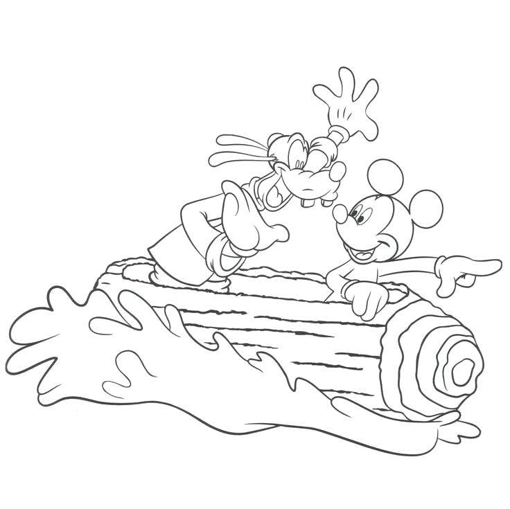 736x735 Coloring Page Pages On Land Clip Art School Bus Disney Theme