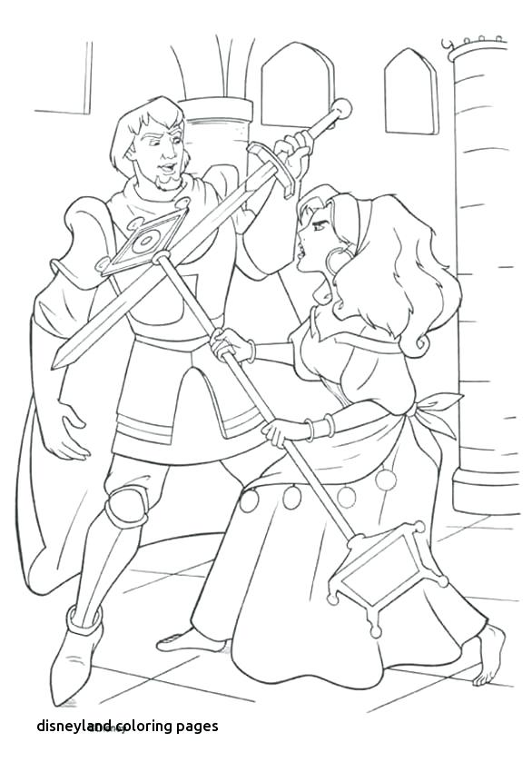586x850 Disneyland Coloring Pages Best Colouring Pages Images On For Land