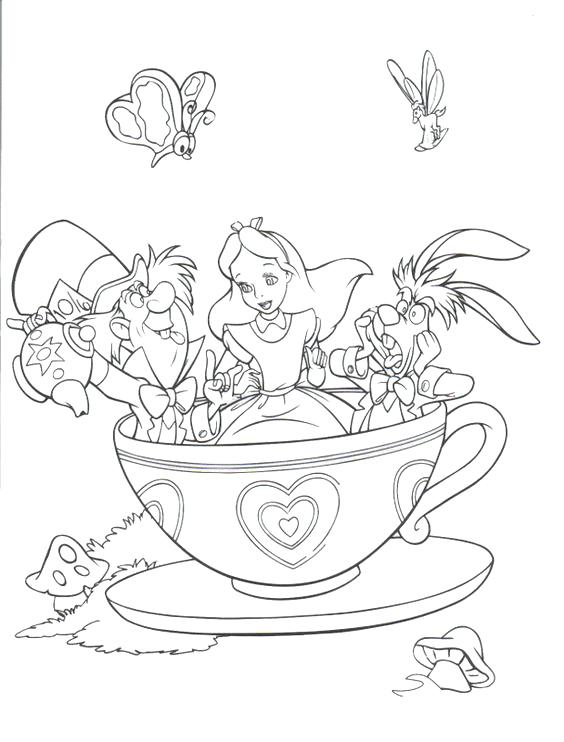 564x742 Disneyland Coloring Pages Coloring Page Free Download Disney Theme