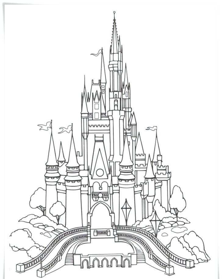 728x916 Disneyland Coloring Pages Lifetime Coloring Pages Com Disney Theme