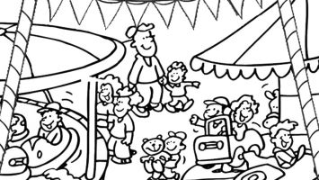355x200 Hugs Coloring Pages Free Coloring For Kids