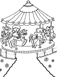 236x320 Amusement Park Coloring Pages Coloring And Coloring Vbs