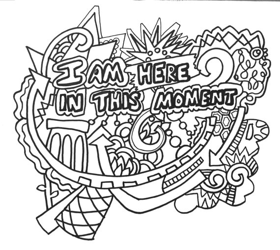 570x509 Empowering Affirmations Coloringpages Original Art