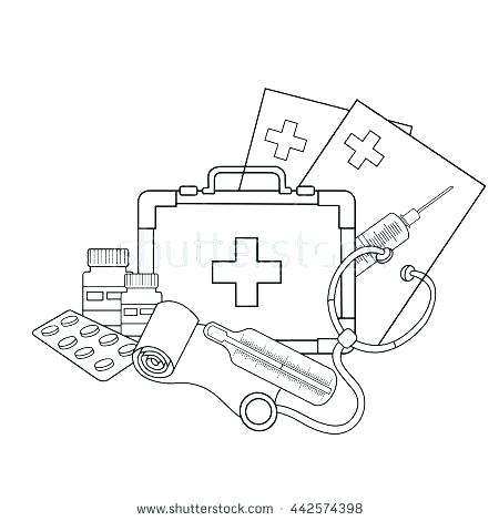 450x470 Doctor Tools Colouring Pages Who Coloring Page Perfect