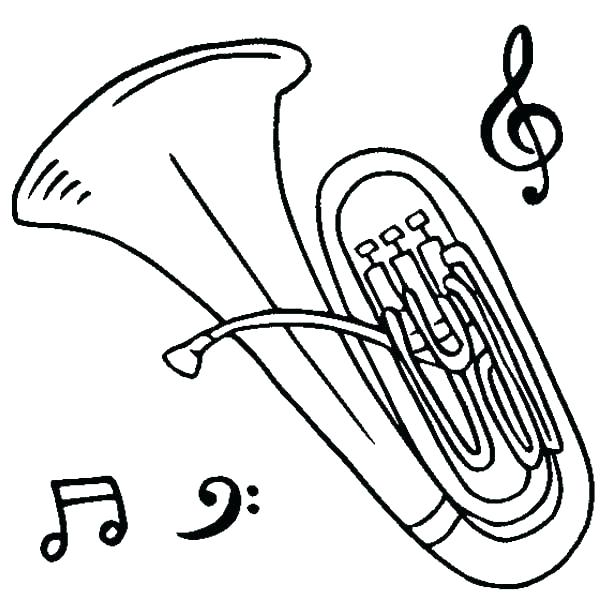 600x600 Music Instruments Coloring Pages Thermometer Coloring Page Musical