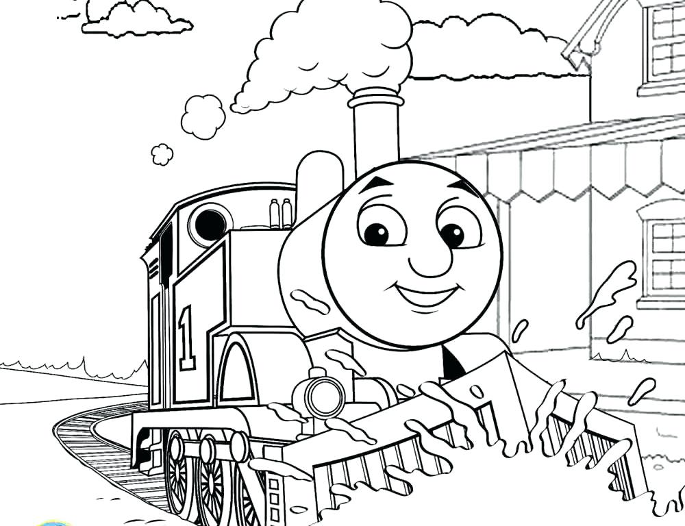 1000x768 Percy Coloring Pages Coloring Page The Train Printable Pages