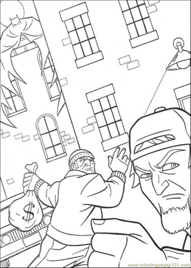650x912 The Thief Coloring Page