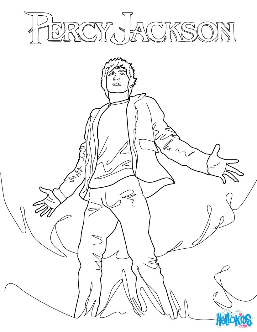 820x1060 The Lightning Thief Coloring Pages
