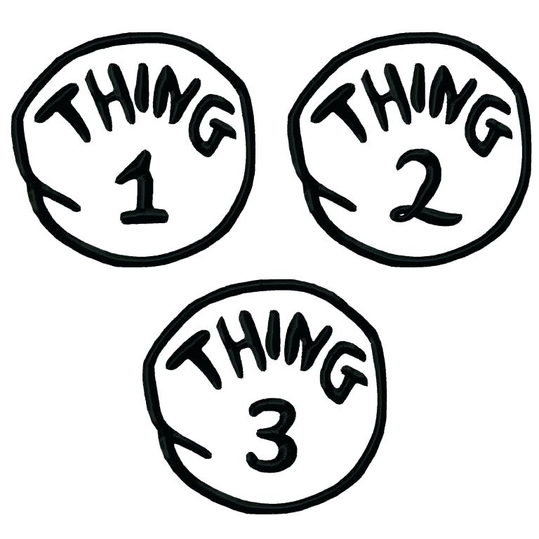 photograph relating to Thing 1 and Thing 2 Printable Template known as Detail 1 Detail 2 Printables