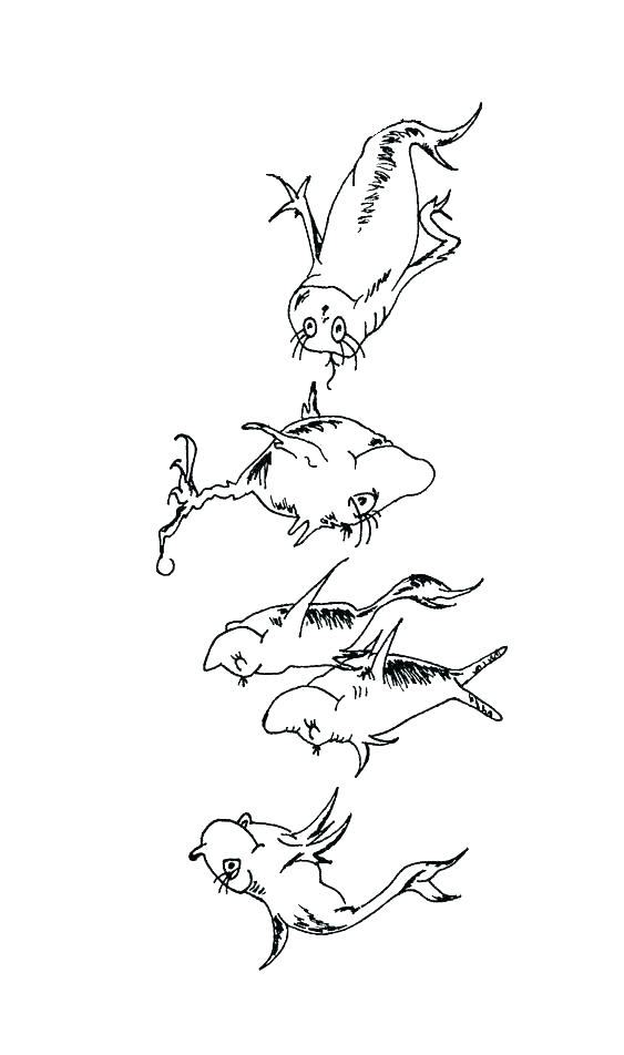 563x952 Dr Seuss Color Pages Coloring Pages Thing And Thing Dr Seuss