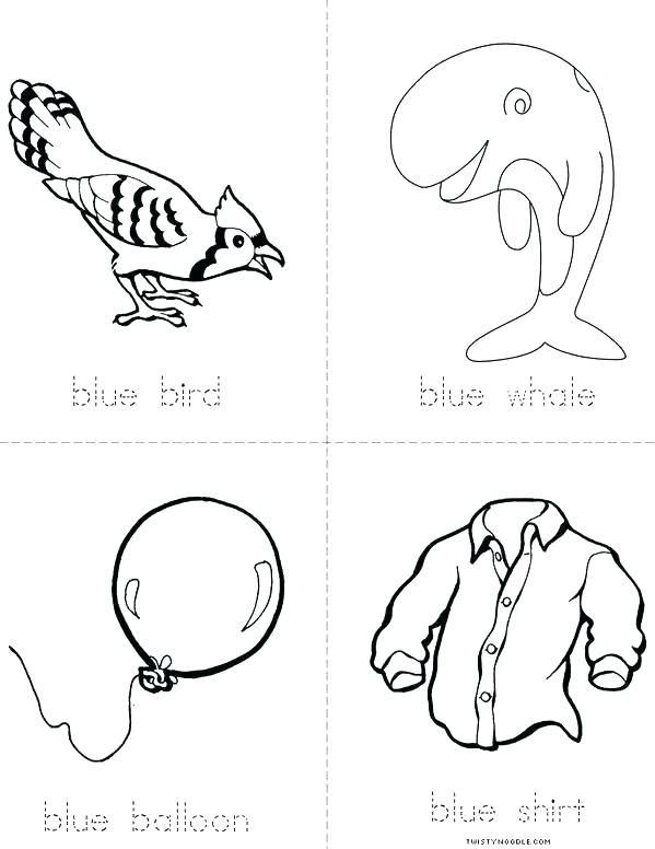 599x776 Blue Coloring Pages Blue Coloring Sheet Blue Coloring Things That