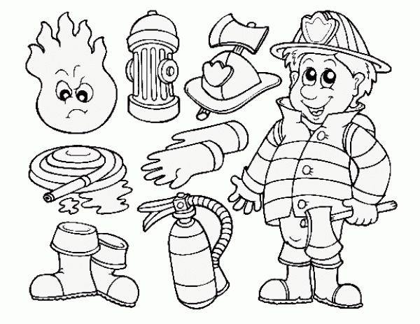 600x463 Fireman Coloring Pages New Things That Go Coloring Book Cars