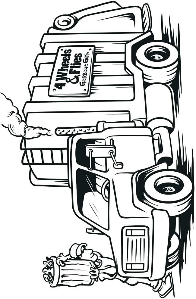 650x993 Trucks Coloring Pages Fire Truck Coloring Pages Pages Monster Jam