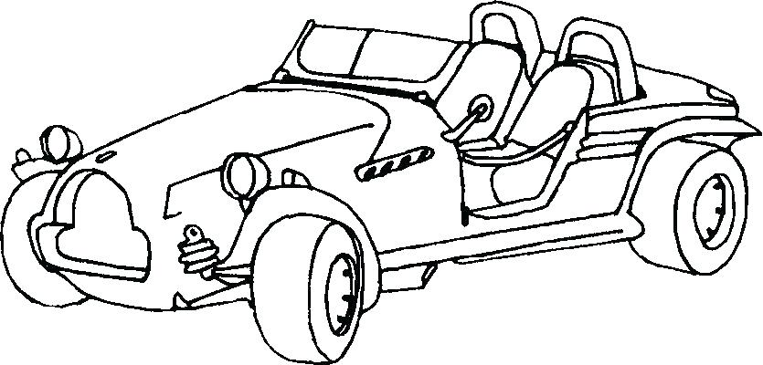 835x400 Coloring Pages Cars And Trucks