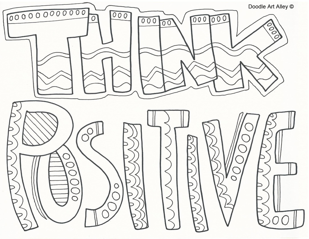 Think Coloring Page